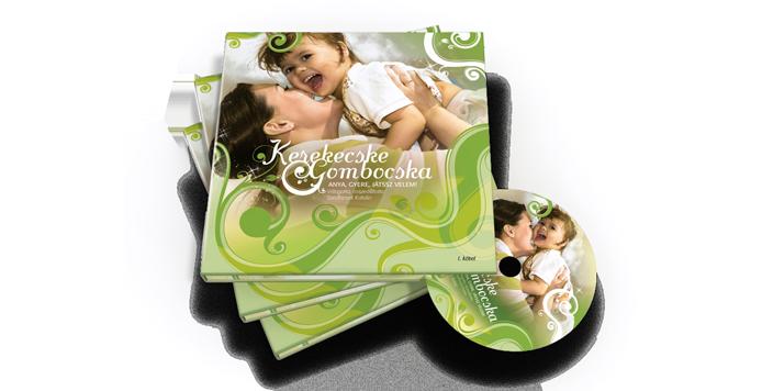 Kerecske Gombocska Könyv I. kötet CD-vel elektromos cigi, elektromos cigaretta,e cigi,e cigaretta,elektronikus cigaretta, eliquid